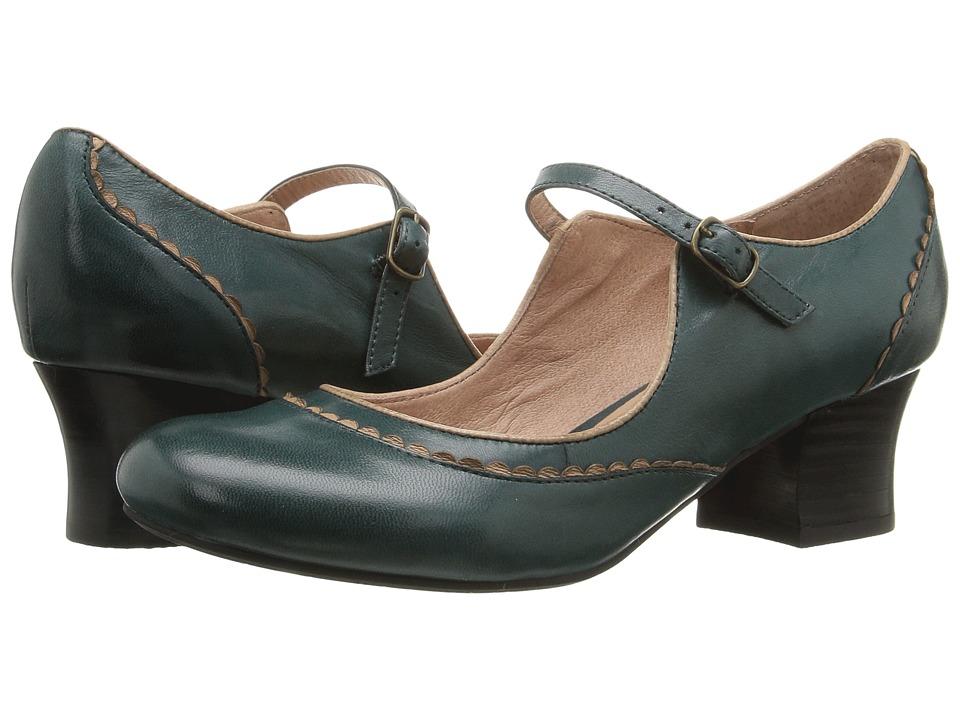 Miz Mooz - Fortune (Teal) Women's Shoes