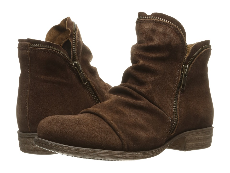 Miz Mooz Luna (Brown Suede) Women
