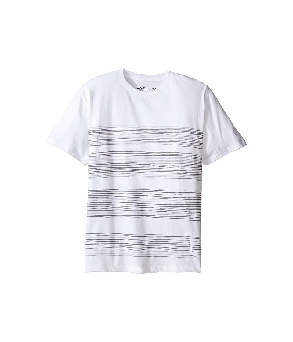 O'Neill Kids - Forecast T-Shirt (Big Kids) (White) Boy's T Shirt
