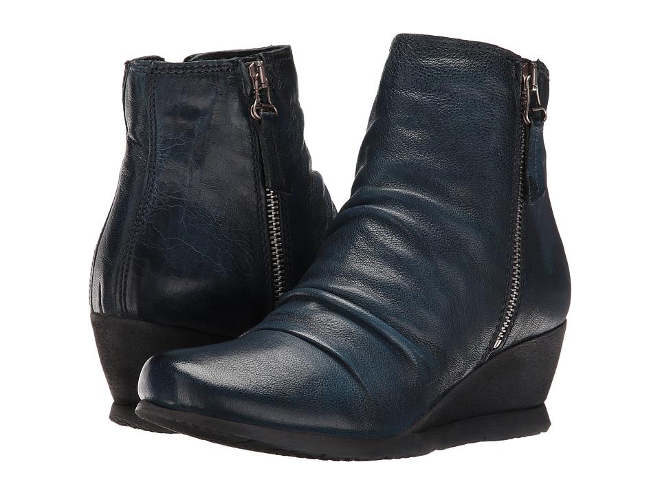 Miz Mooz - Mariette (Blue) Women's Shoes