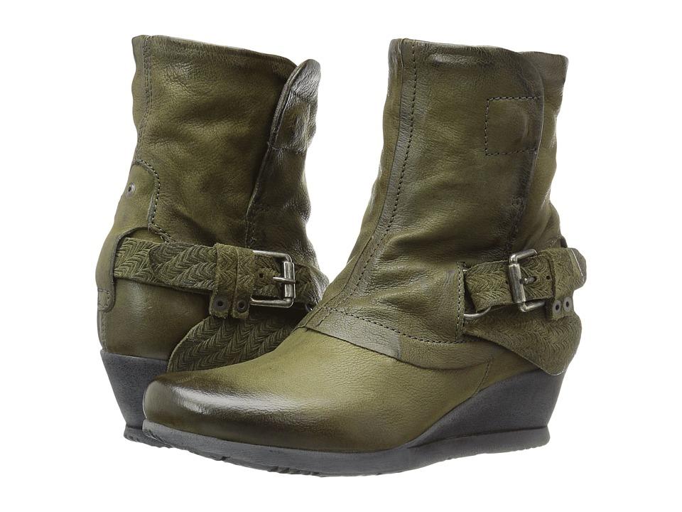 Miz Mooz - Margie (Army) Women's Shoes