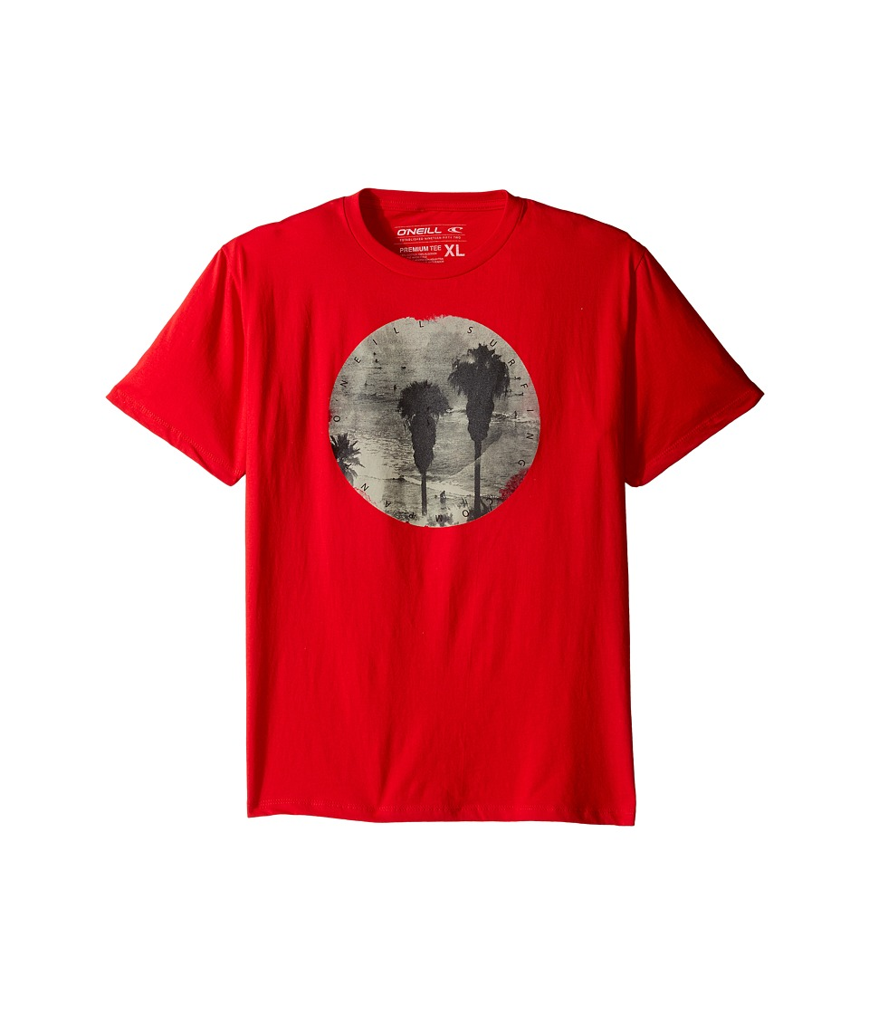 O'Neill Kids - Underworld T-Shirt (Big Kids) (Red) Boy's T Shirt