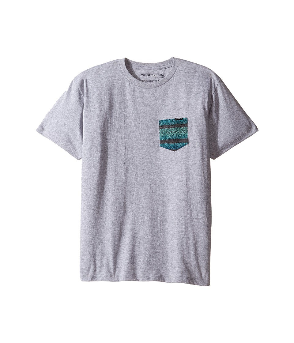 O'Neill Kids - Pick Pocket T-Shirt (Big Kids) (Medium Heather Grey) Boy's T Shirt