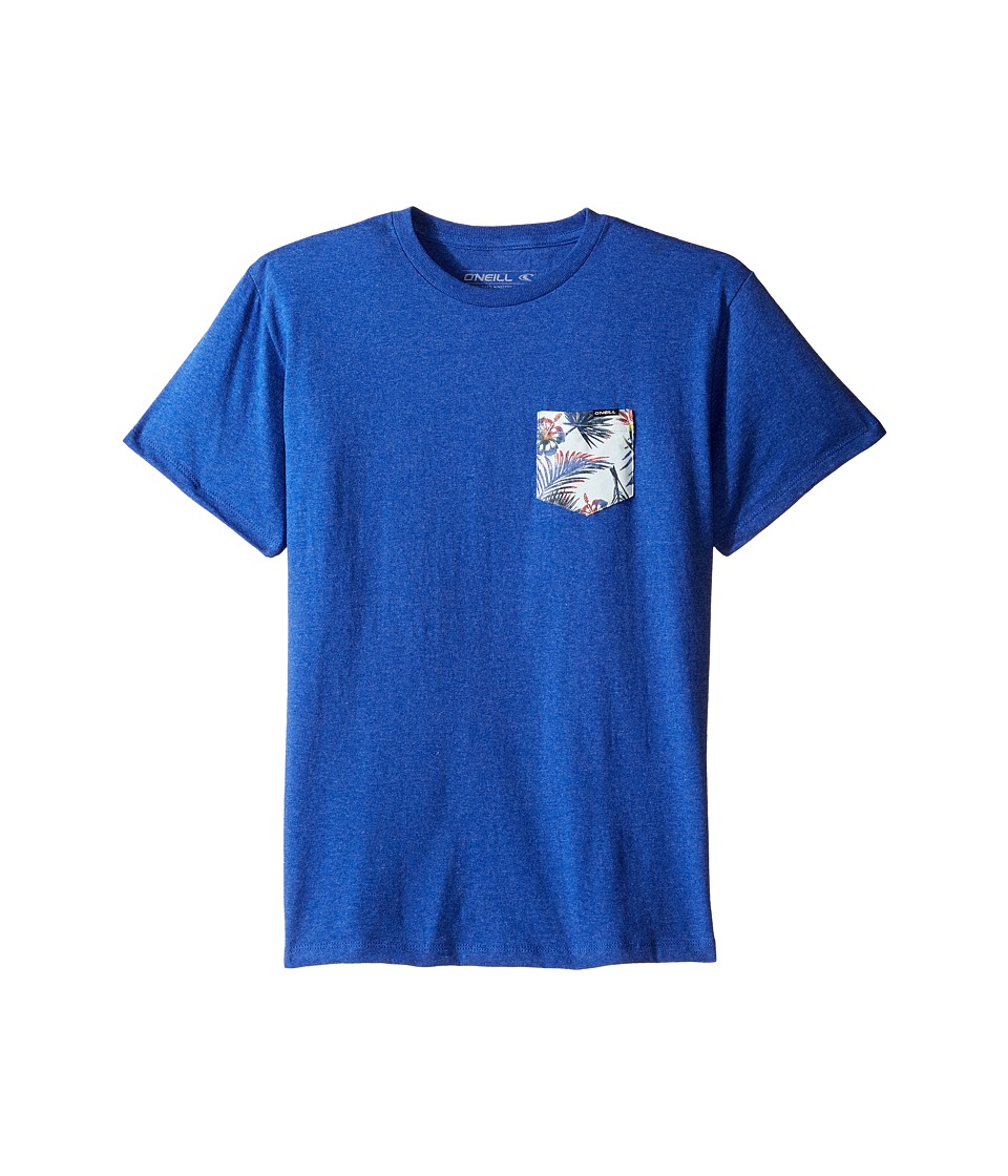 O'Neill Kids - Pick Pocket T-Shirt (Big Kids) (Heather Royal Blue) Boy's T Shirt