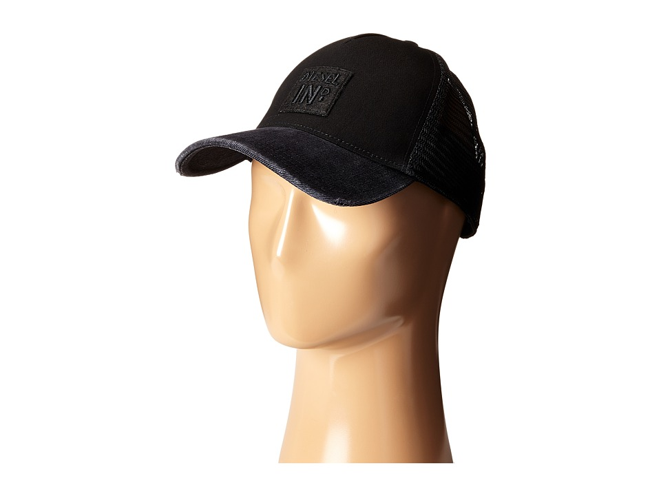 Diesel - Chinus-D Hat (Black/Denim) Caps
