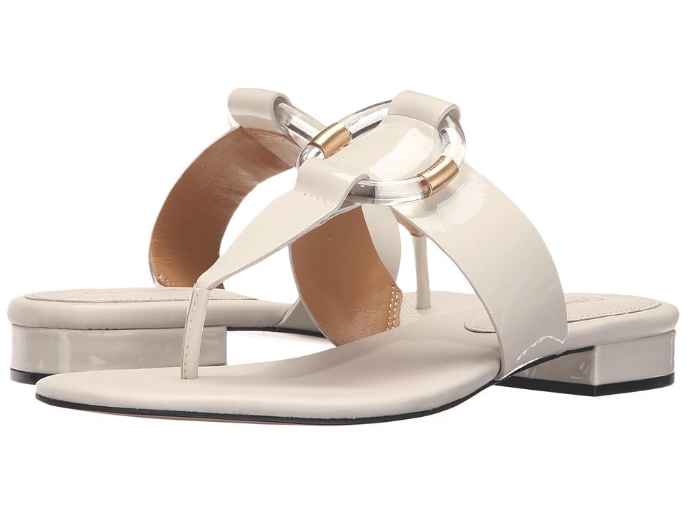 Calvin Klein - Aiden (Soft White Patent) Women's Sandals