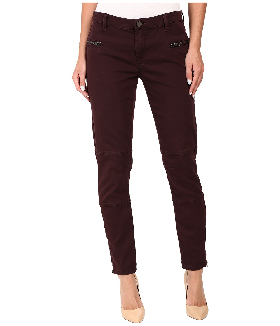 Blank NYC - Utility Skinny in Wine O Clock (Wine) Women's Casual Pants