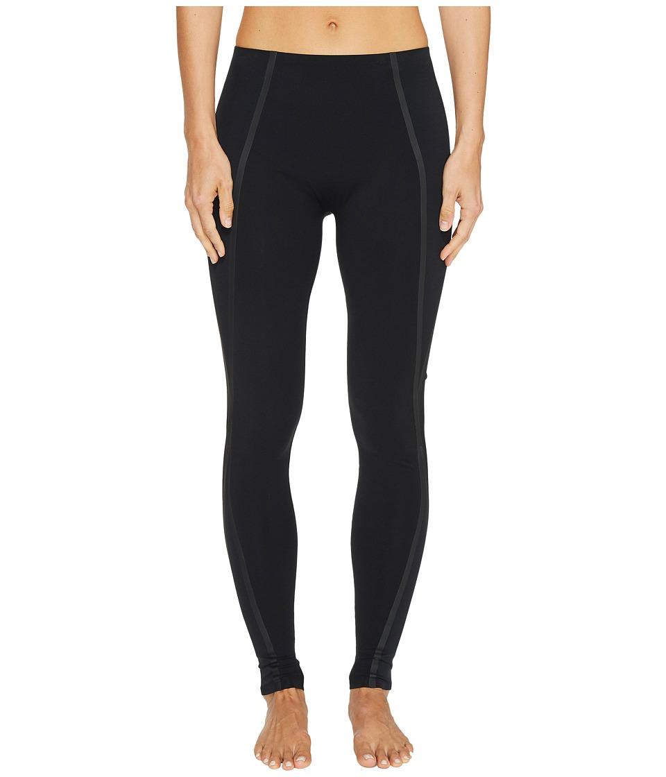 Spanx - Exposed Mesh Leggings (Very Black) Women's Clothing