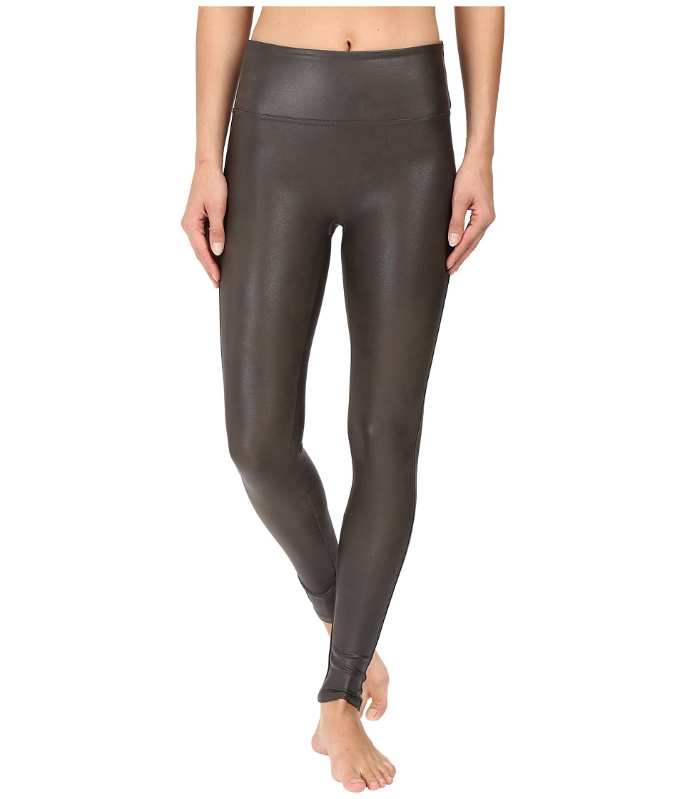 Spanx - Ready-to-Wow! Faux Leather Leggings (Gunmetal) Women's Casual Pants