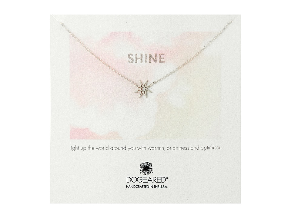 Dogeared - Shine Star Necklace (Sterling Silver) Necklace
