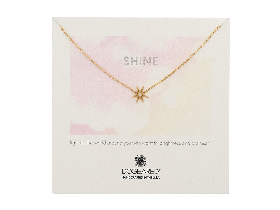 Dogeared - Shine Star Necklace (Gold Dipped) Necklace