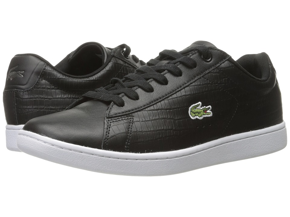 Lacoste - Carnaby EVO G316 5 (Black/Black) Men's Shoes