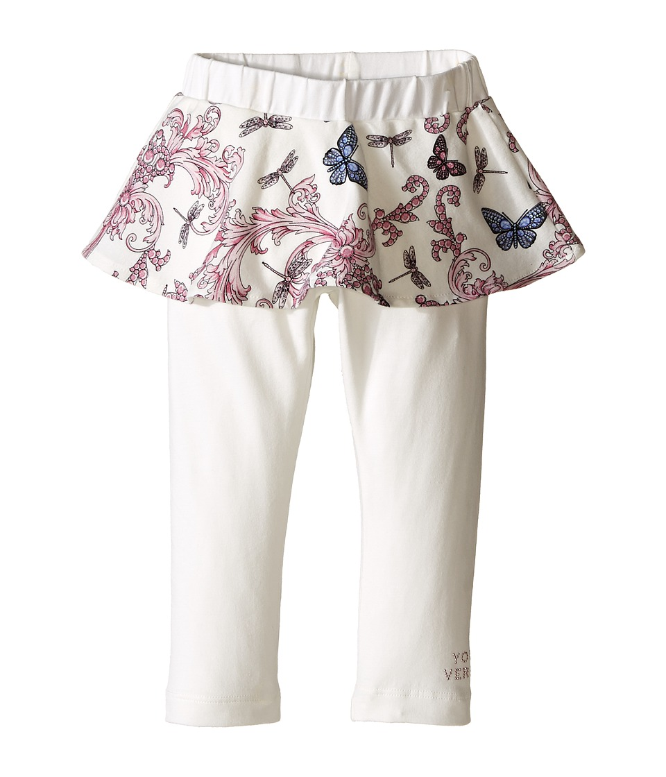 Versace Kids - Skirted Pants Print (Infant/Toddler) (Butterfly) Girl's Casual Pants