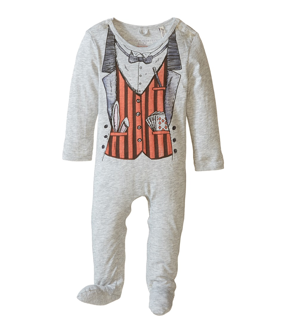 Stella McCartney Kids - Twiddle Magician Footie (Infant) (Pebble) Boy's Jumpsuit & Rompers One Piece