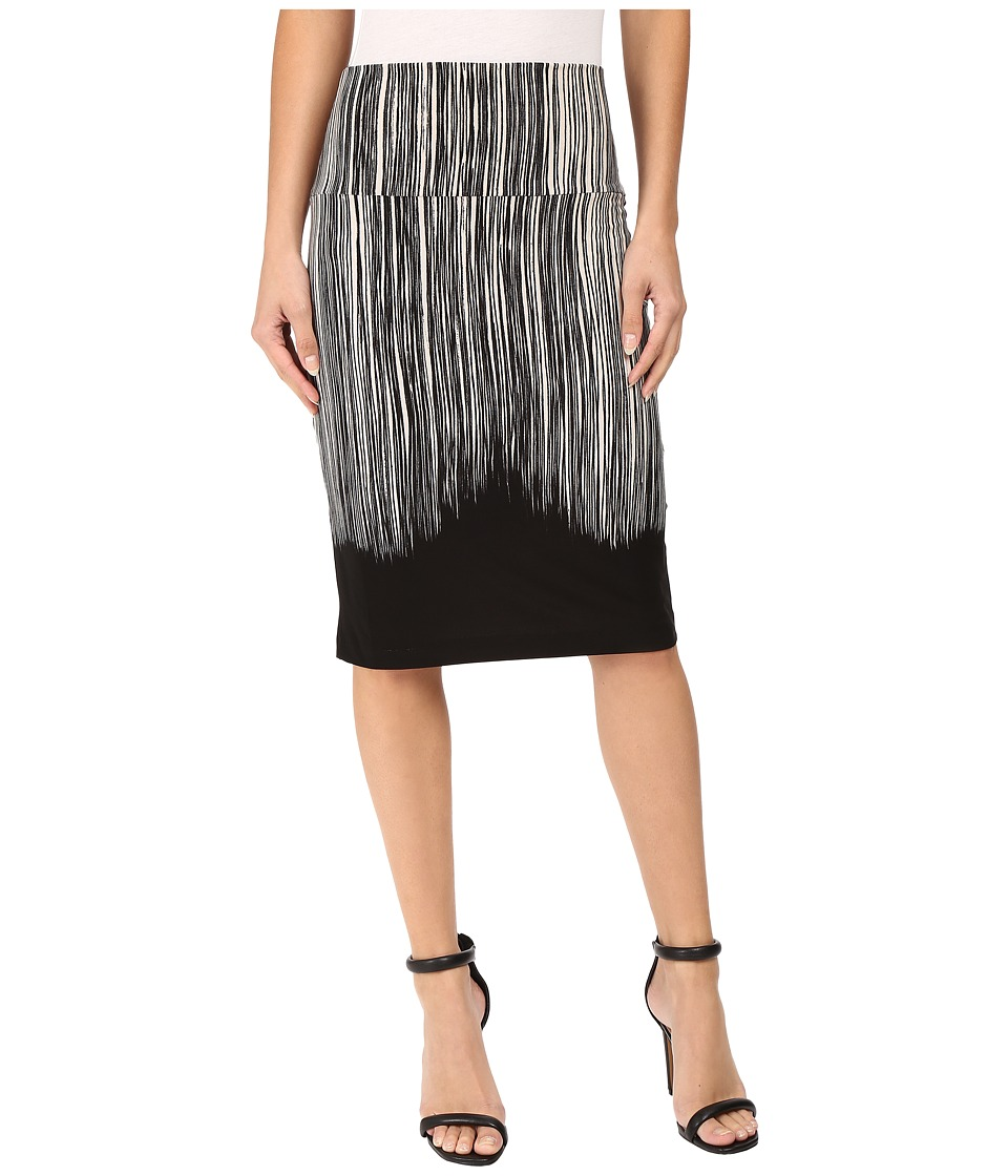 KAMALIKULTURE by Norma Kamali - Skirt To Knee (Fringe) Women's Skirt