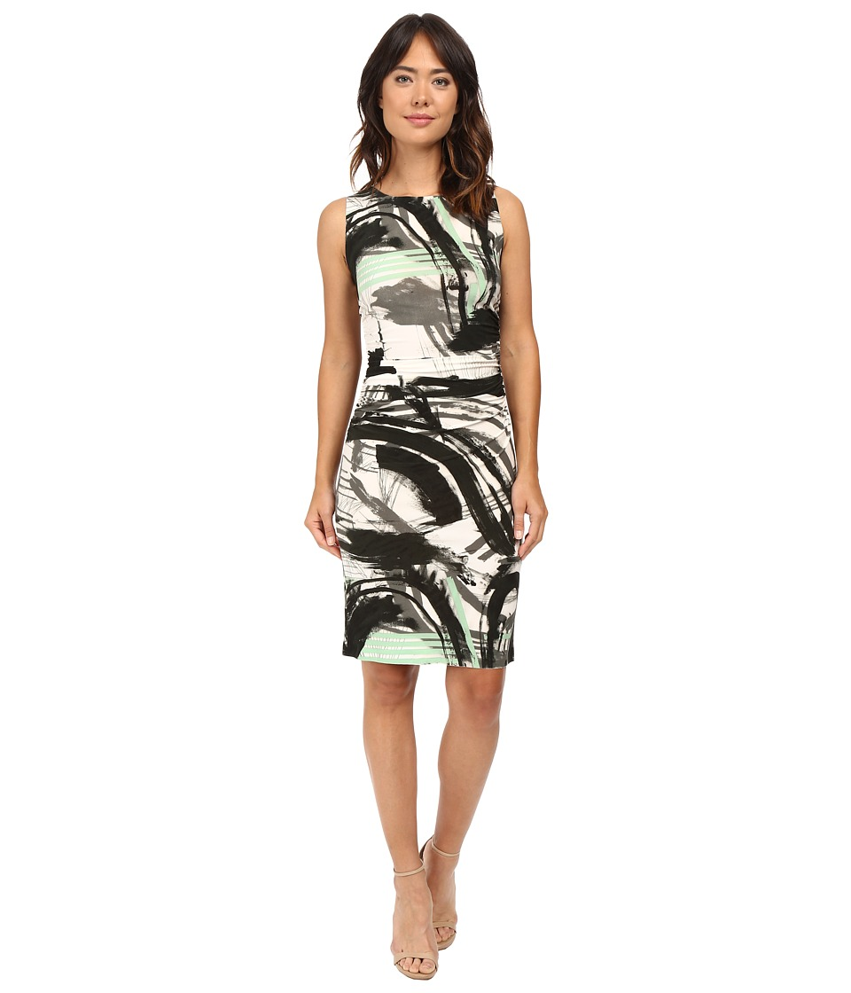 KAMALIKULTURE by Norma Kamali - Sleeveless Shirred Waist Dress (Graffiti) Women's Dress