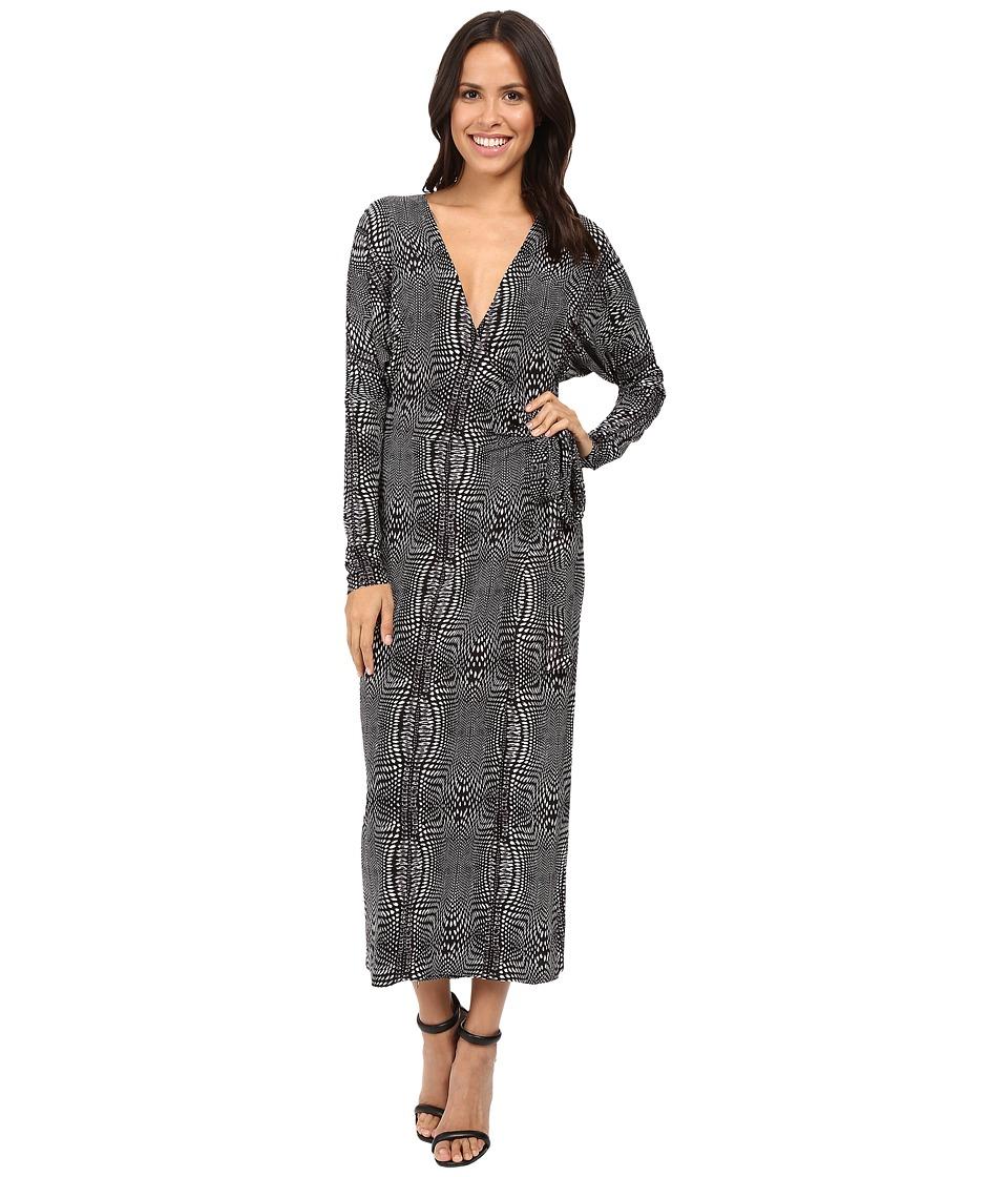 KAMALIKULTURE by Norma Kamali - Dolman Wrap Dress (Illusion) Women's Dress