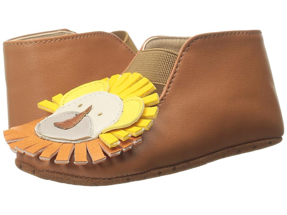 Stella McCartney Kids - Cub Lion Crib Shoes (Infant/Toddler) (Tan) Boy's Shoes