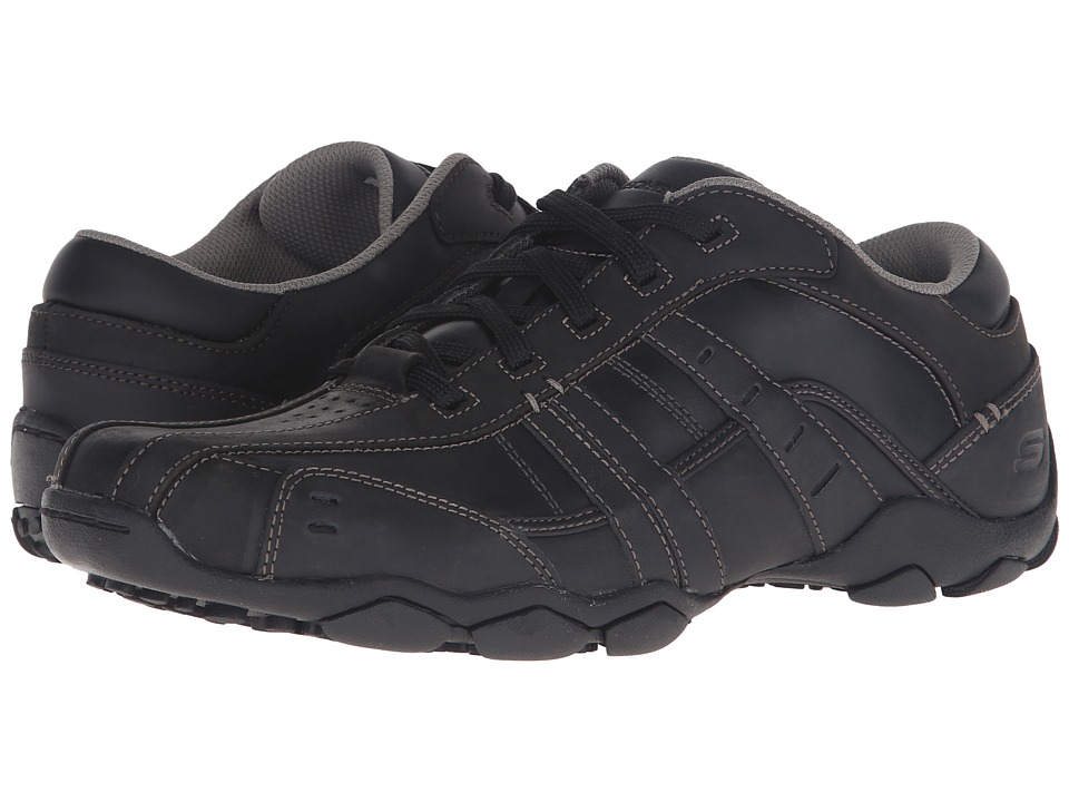 SKECHERS - Diameter-Vassell (Black) Men's Lace up casual Shoes