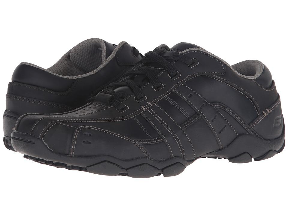 SKECHERS - Diameter-Vassell (Black) Men's Lace up casual Shoes