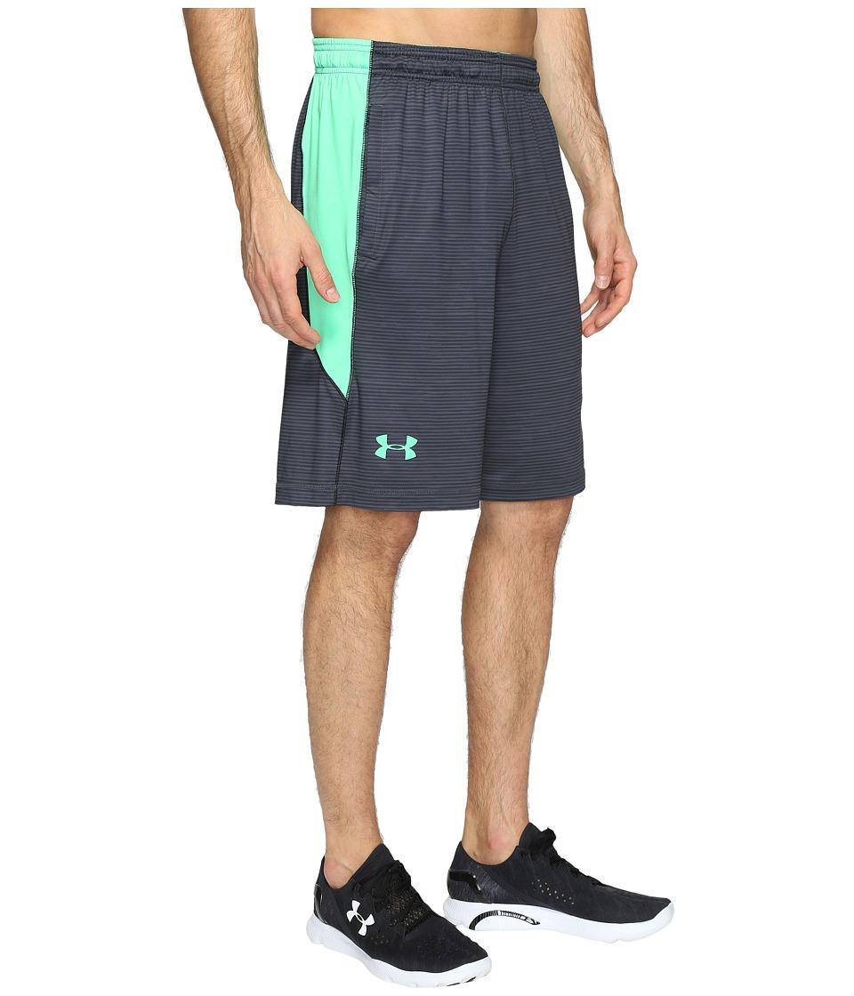Under Armour - UA Raid Novelty Short (Stealth Gray/Vapor Green) Men's Shorts