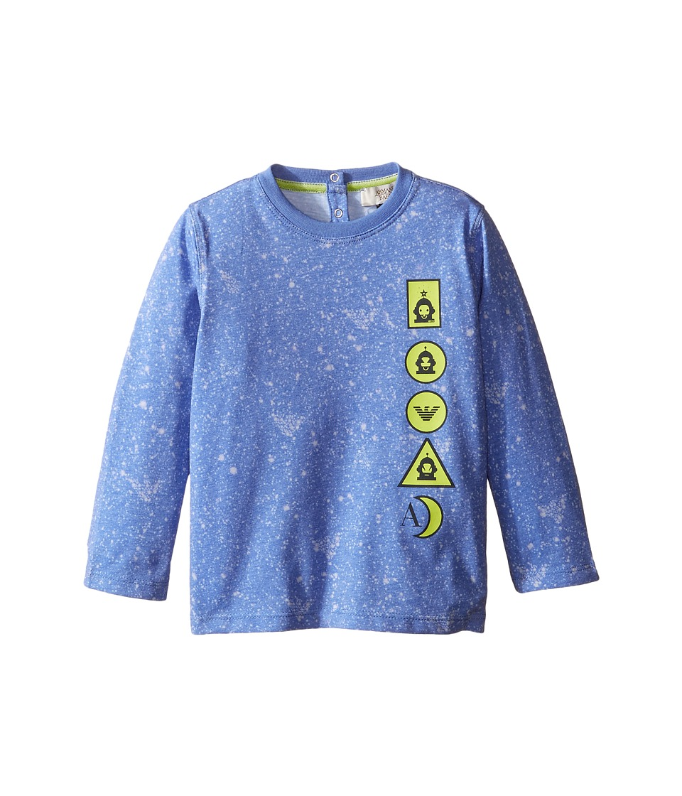 Armani Junior - Galaxy Tee (Infant) (Blue) Boy's T Shirt