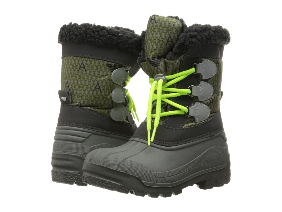 Armani Junior - Snow Boot (Toddler/Little Kid/Big Kid) (Alloy) Boys Shoes