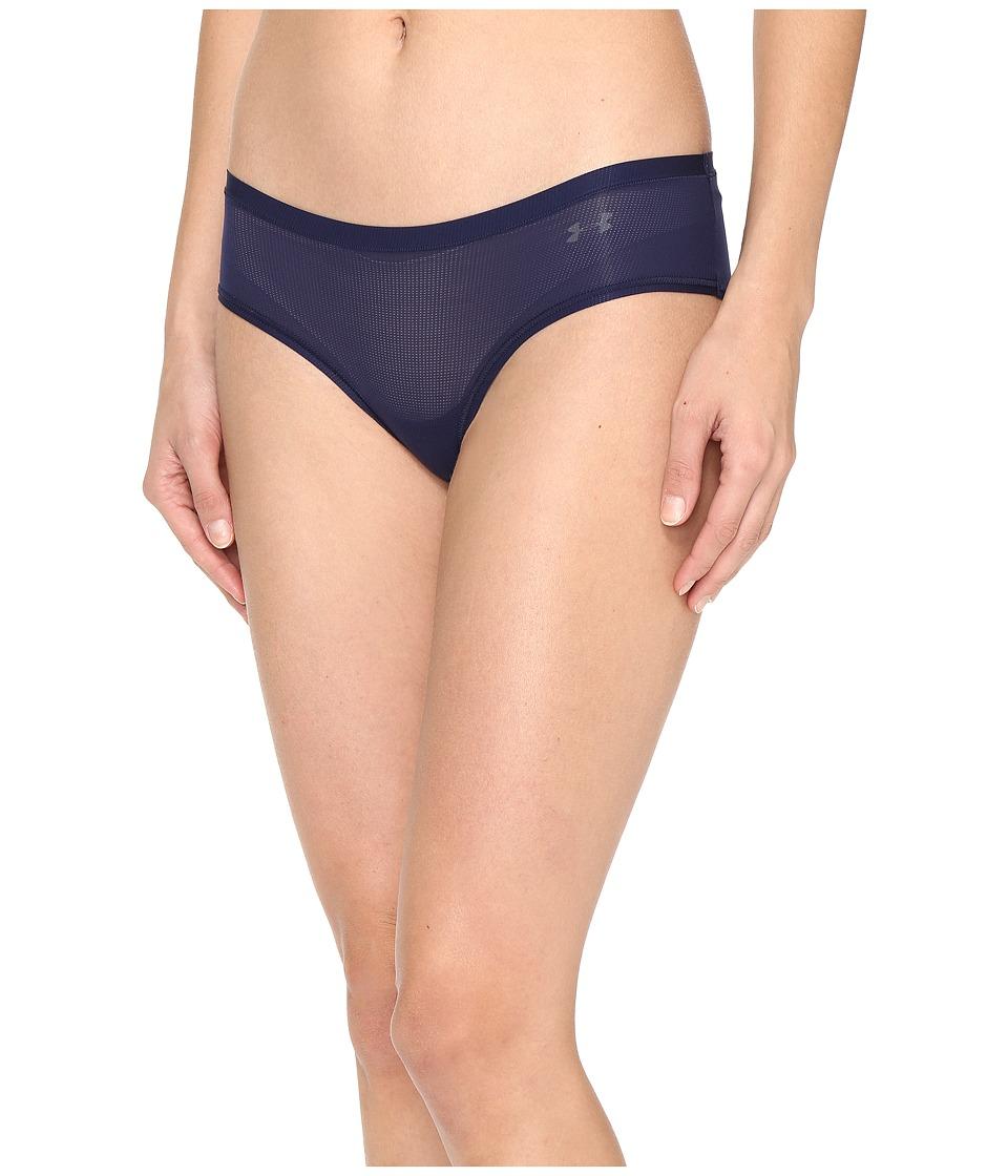 Under Armour - Pure Stretch Sheer Hipster (Midnight Navy) Women's Underwear