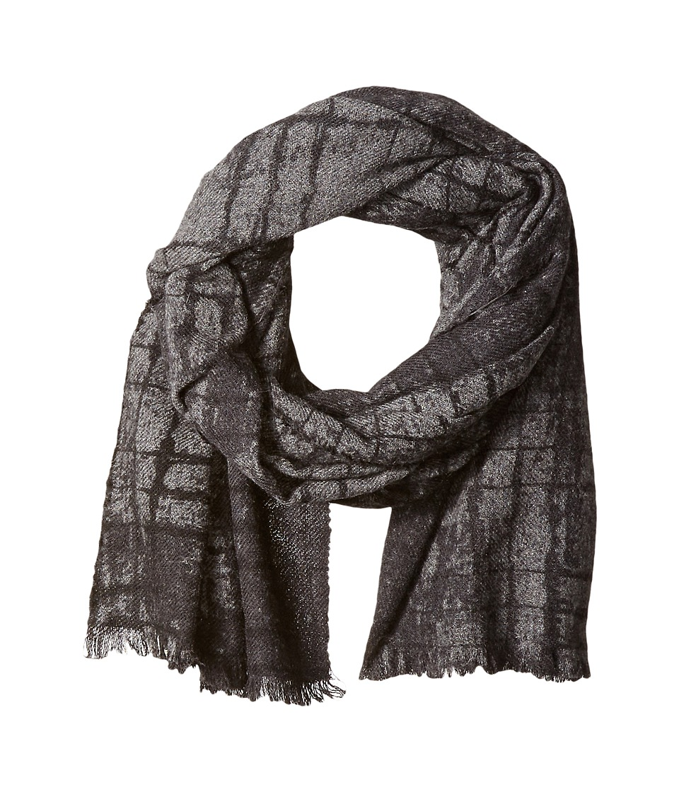 John Varvatos Star U.S.A. - Abstract Print (Black) Scarves