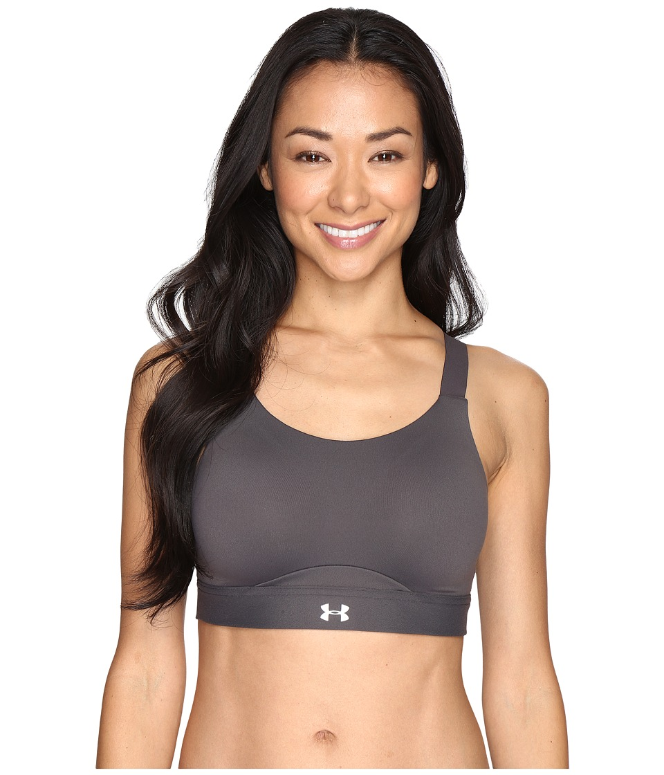 Under Armour - Armour Eclipse High V.2 (Charcoal/Charcoal) Women's Bra