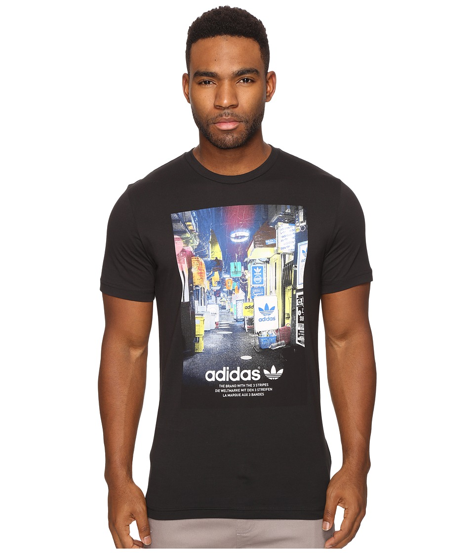 adidas Originals - Street Photo Tee (Black) Men's T Shirt