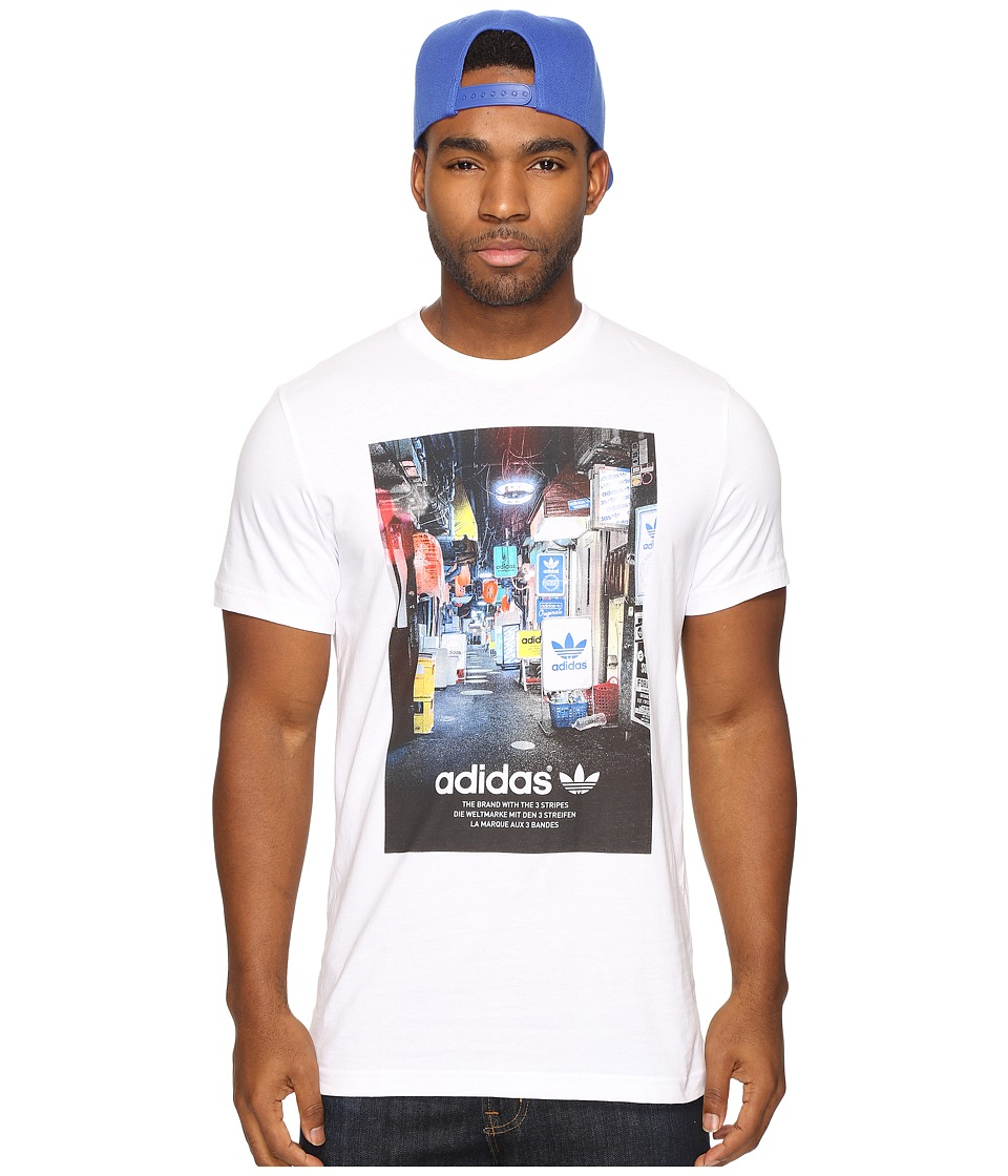 adidas Originals - Street Photo Tee (White) Men's T Shirt