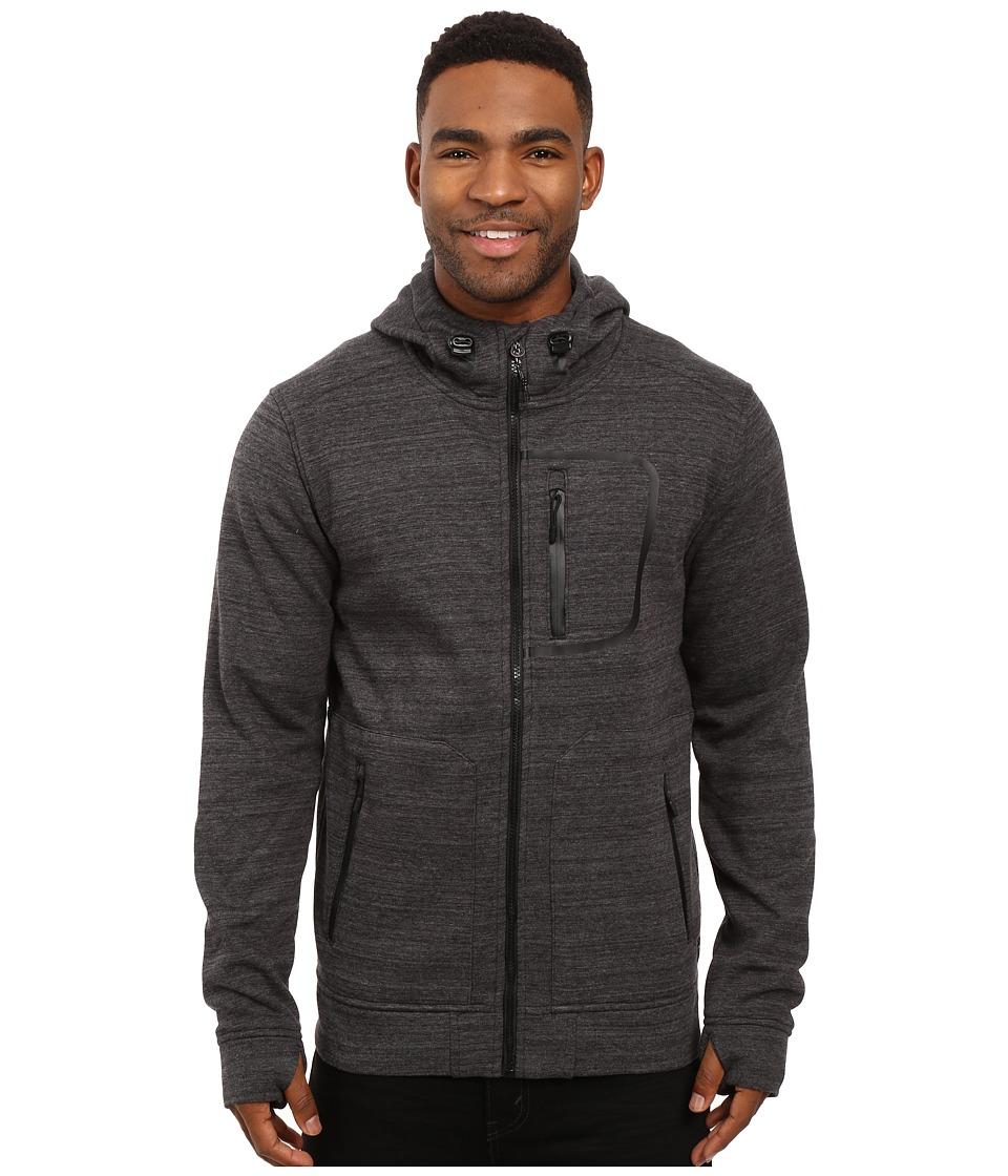O'Neill - Traveler Hyperhoodie (Asphalt) Men's Sweatshirt