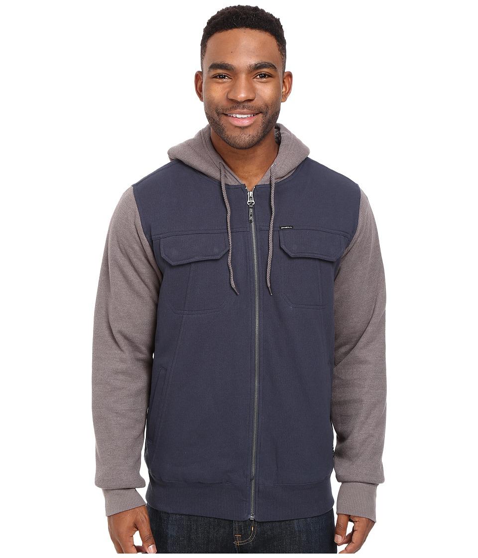 O'Neill - Shortrib Sherpa Hoodie (Indigo) Men's Sweatshirt
