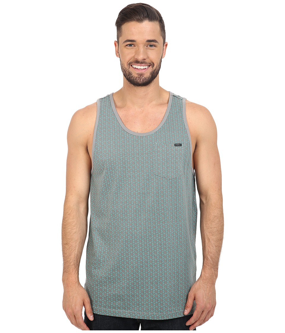 O'Neill - Worley Tank Top (Grey) Men's Sleeveless