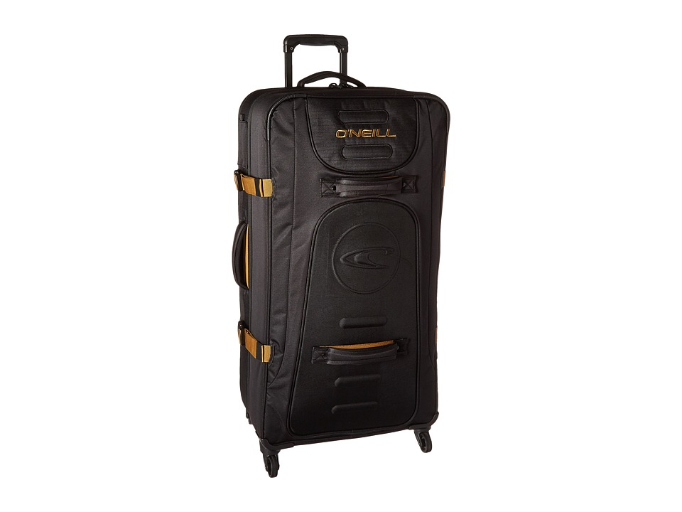 O'Neill - Traveler Deluxe Luggage (Black) Luggage