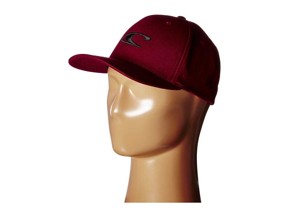 O'Neill - Clean and Mean Hat (Burgundy) Traditional Hats