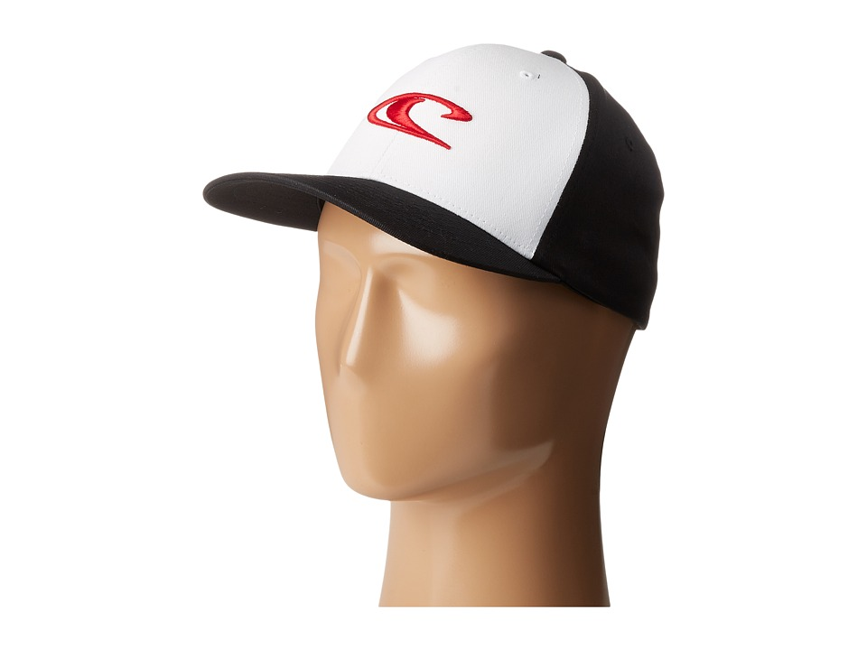 O'Neill - Clean and Mean Hat (Black/Red) Traditional Hats