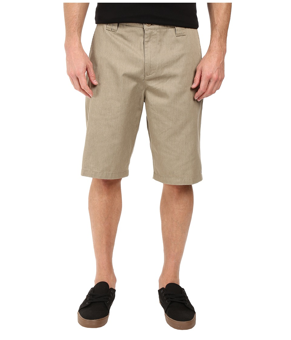 O'Neill - Contact Shorts (Khaki Heather) Men's Shorts