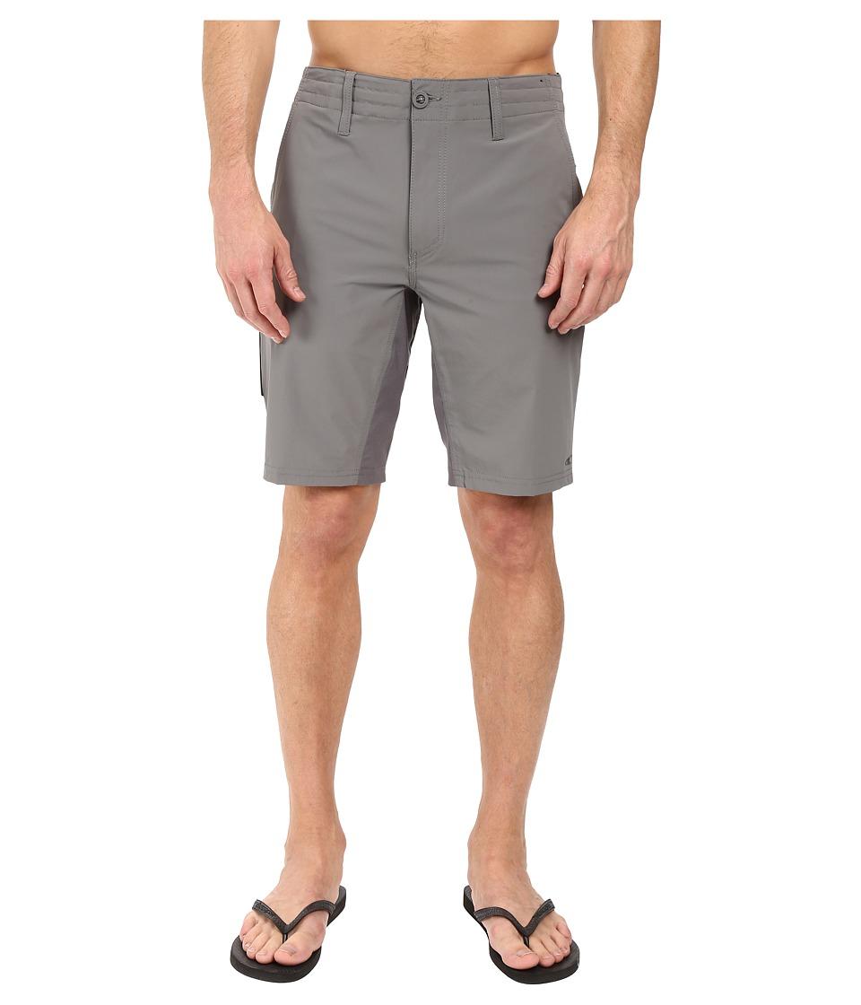 O'Neill - Traveler Chino Hybrid Short (Grey) Men's Swimwear