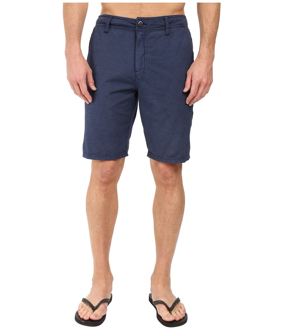 O'Neill - Locked Overdye Hybrid Boardshorts (Navy) Men's Swimwear