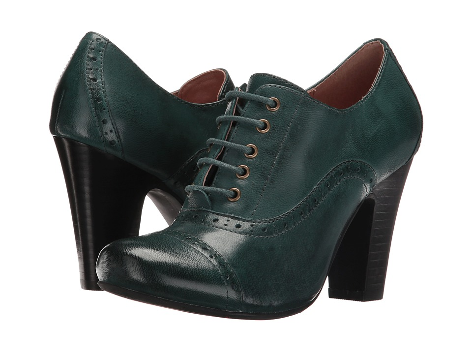 Miz Mooz - Joey (Teal) Women's Shoes