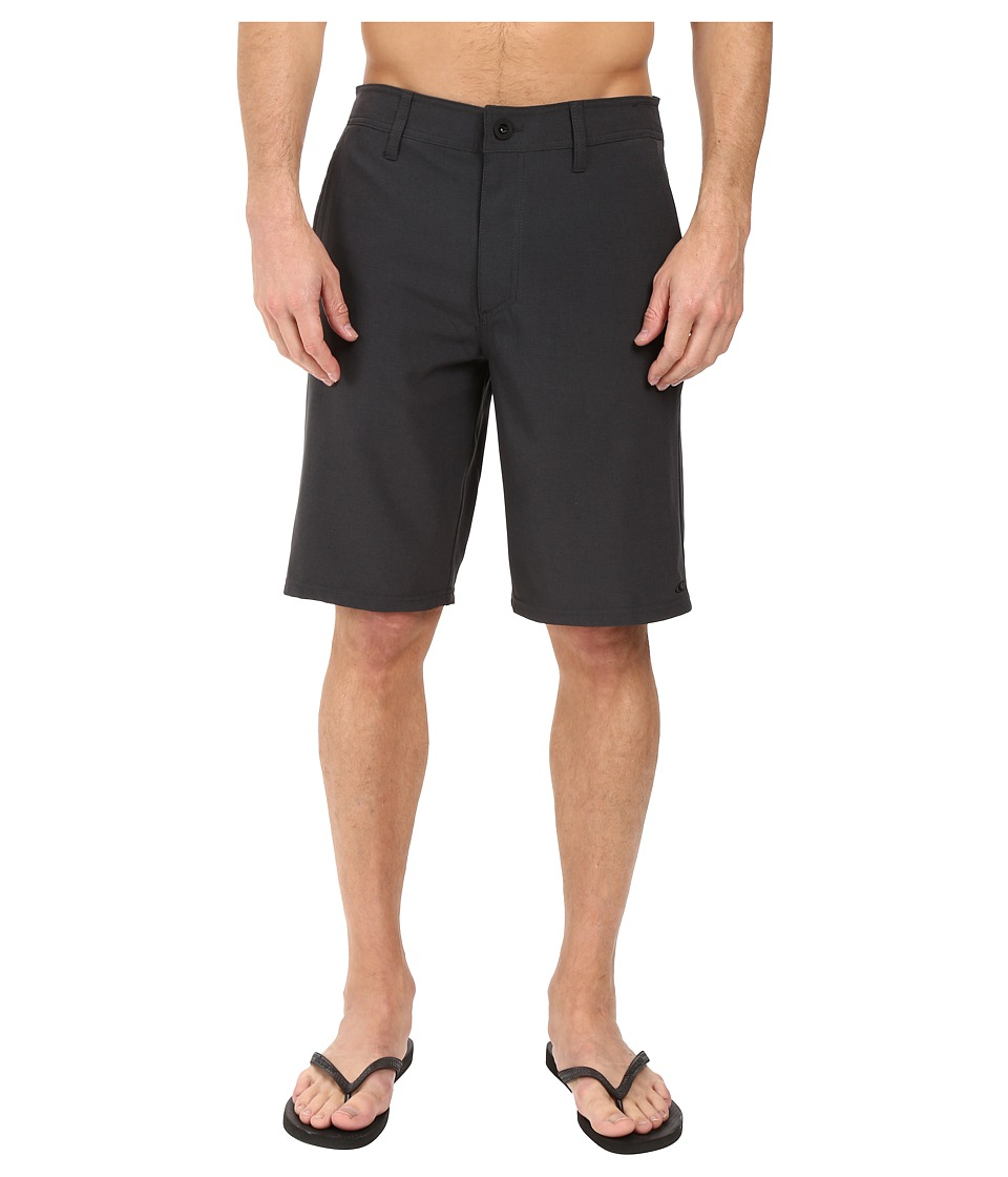 O'Neill - Loaded Hybrid Boardshorts (Heather Black) Men's Swimwear