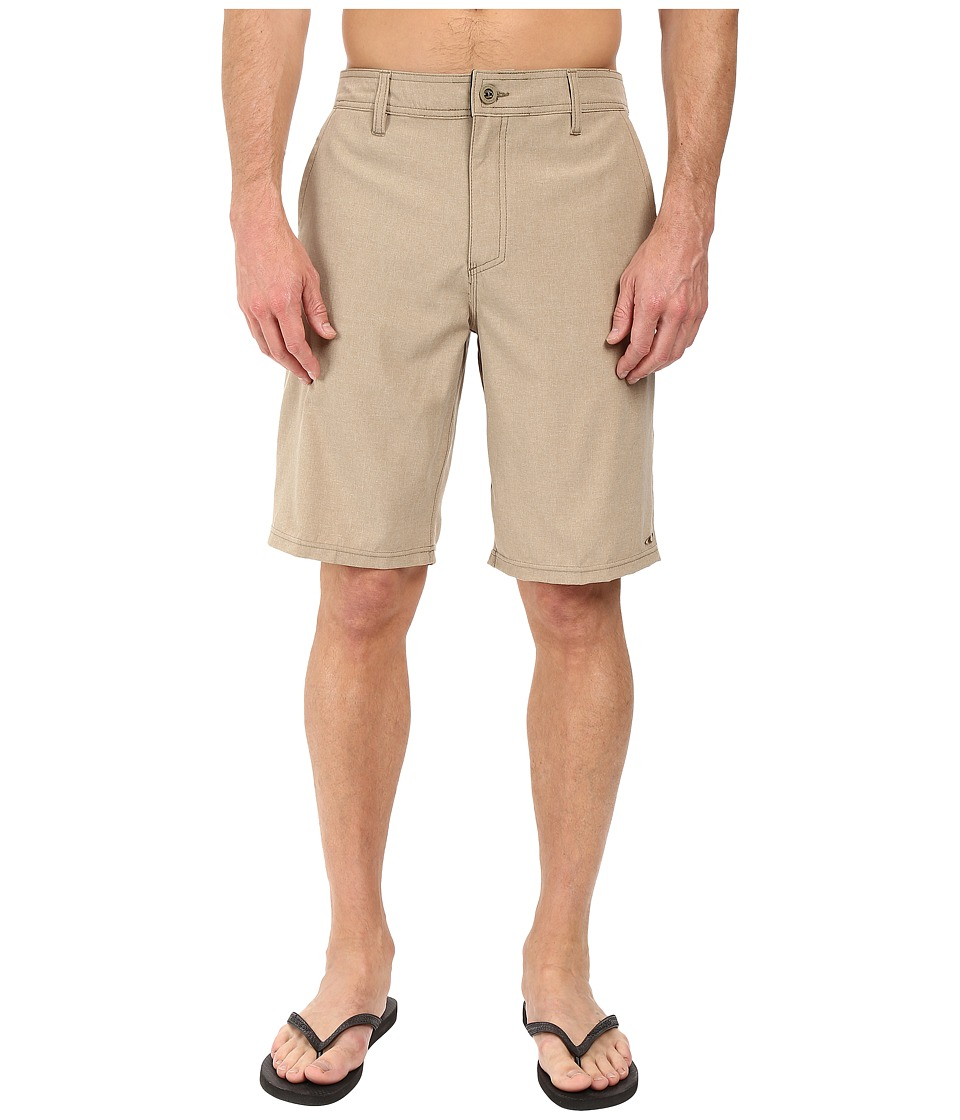 O'Neill - Loaded Hybrid Boardshorts (Heather Khaki) Men's Swimwear
