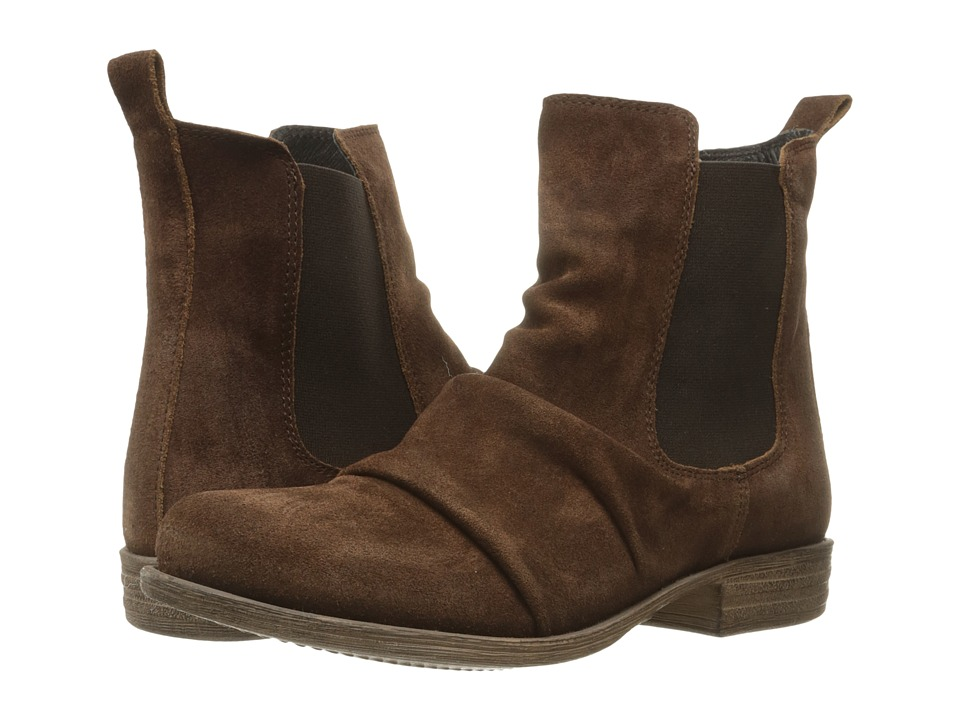 Miz Mooz - Lissie (Brown 1) Women's Pull-on Boots