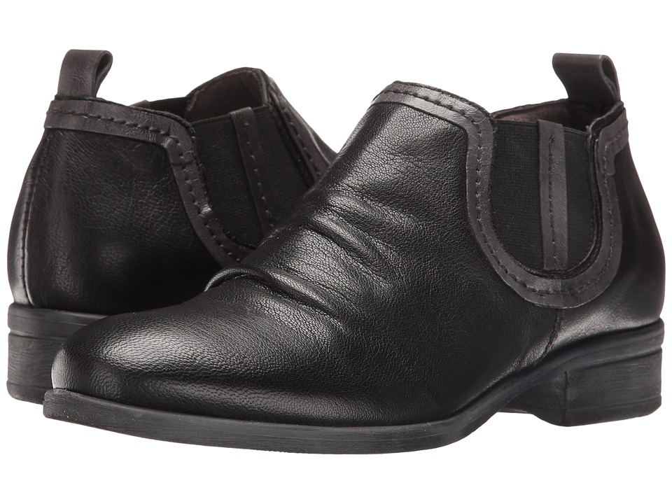 Miz Mooz - Scooter (Black) Women's Shoes