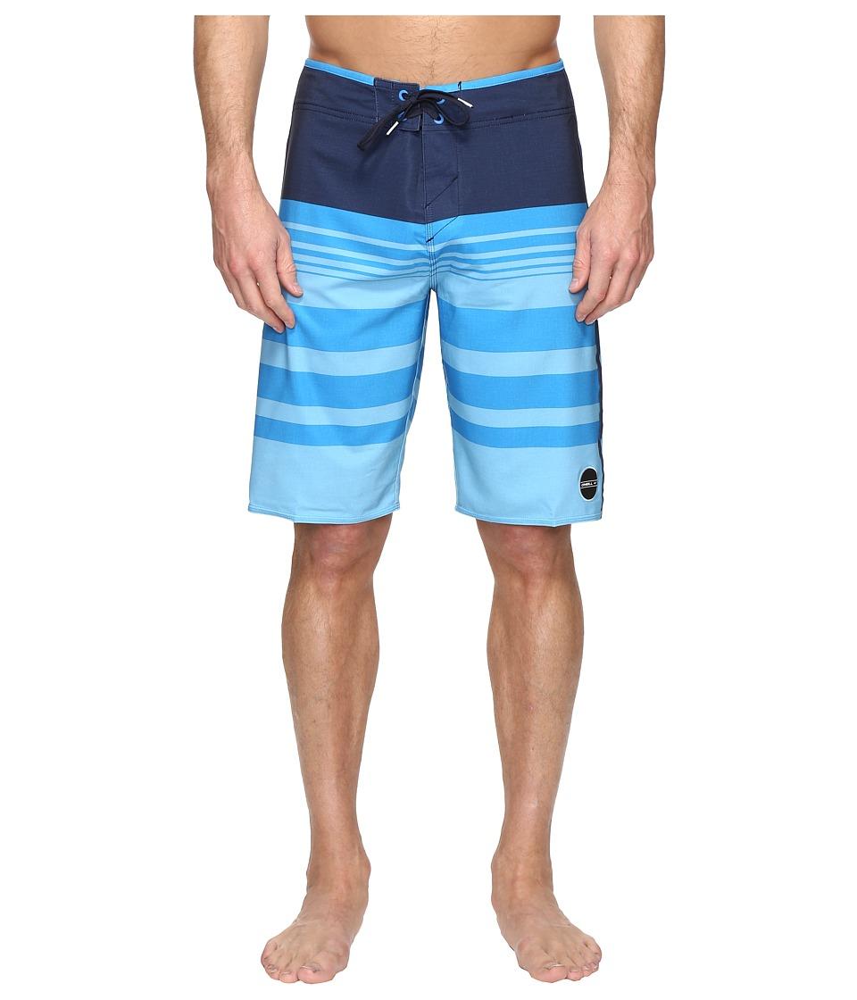 O'Neill - Hyperfreak Heist Boardshorts (Navy) Men's Swimwear