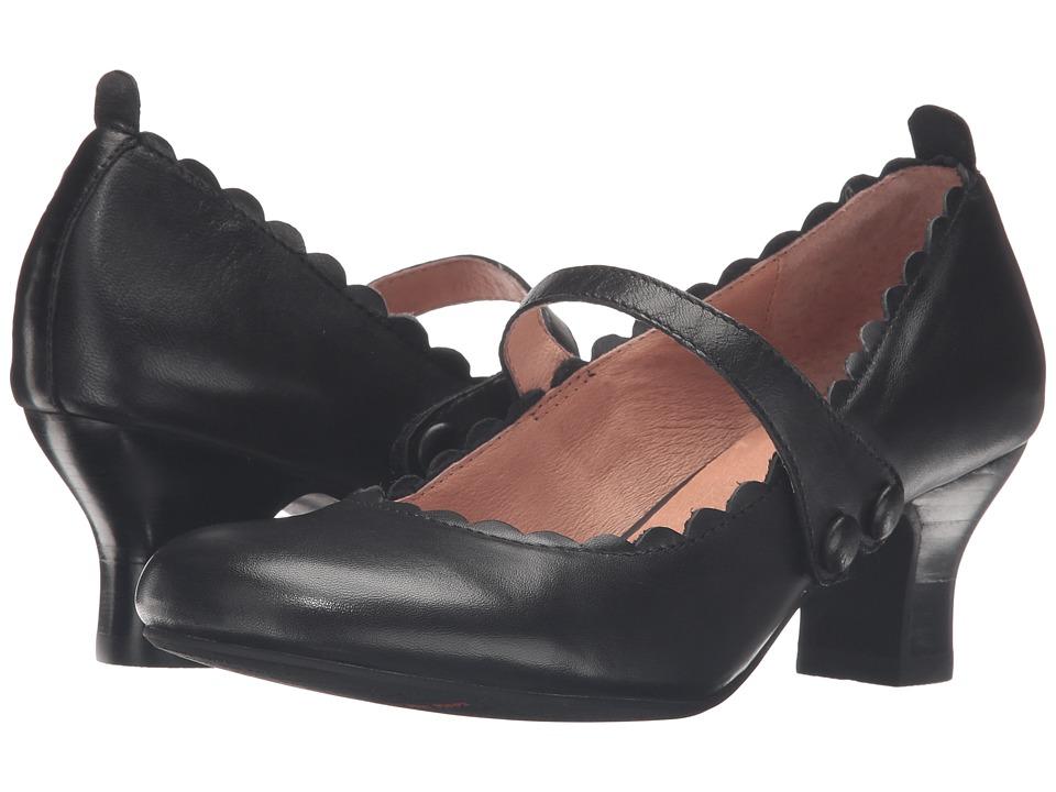 Miz Mooz - Tate (Black) Women's Shoes