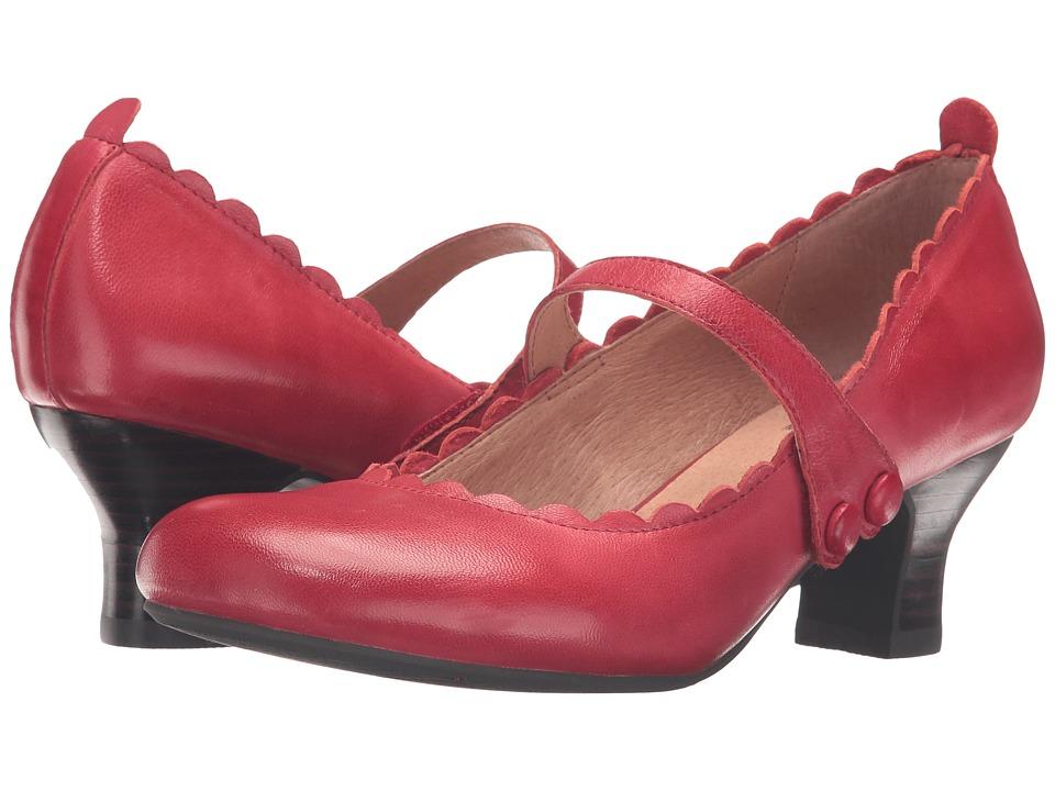 Miz Mooz - Tate (Red) Women's Shoes