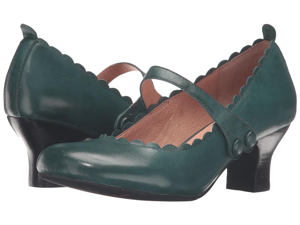 Miz Mooz - Tate (Teal) Women's Shoes